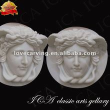 white marble famous wall relief sculpture