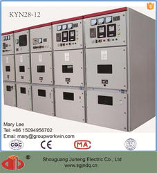 KYN28 12kV MV switchgear switch cabinet for power distribution