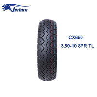 Scooter Tyre Made In China Motorcycle Tire 3.50-10