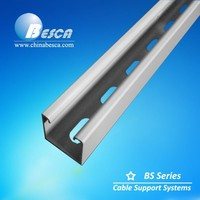 Aluminium Strut Channel/ Steel Profile Perforated Prices in China (UL, SGS, ISO, cUL, TUV)
