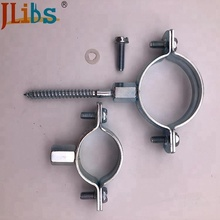 M8+10 Nut Cast Iron Pipe Clamps