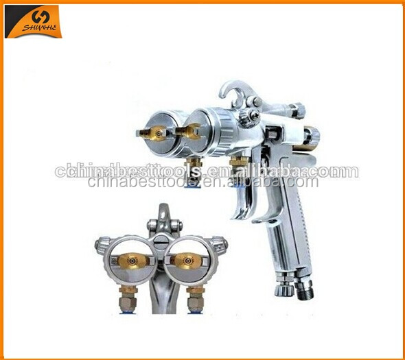 2015 High performance Gravity HVLP Air Spray Gun hot melt glue gun nozzles