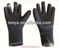 Barely neoprene diving equipment diving accessory swim gloves for adults