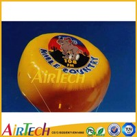 Giant inflatable flying helium balloon for sale