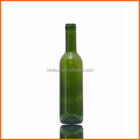 750ml wine regular antique green glass bottles