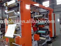 Six colors flexography printing machine