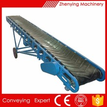 Large load custom made strong stretch belt conveyor system