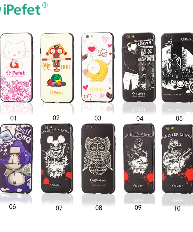 Cover case 3d paper sublimation case for iPhone 6 custom design