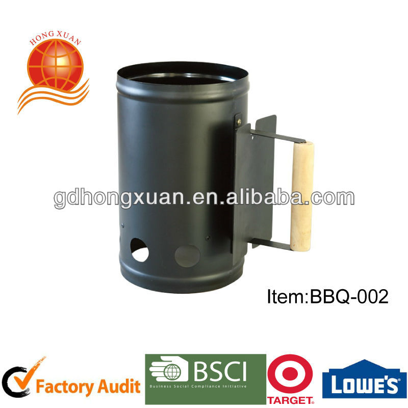 Factory audited BBQ charcoal chimney starter electric charcoal starter