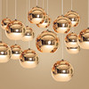 Space Plating Ball Chandelier Led Creative