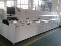 Lead free reflow soldering machine for smt / smd production reflow soldering machine