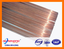 Copper phosphorus brazing alloy welding rod