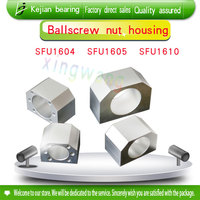 3pcs RM1605 nut housing bracket holder aluminium alloy material for 16mm ball screw SFU 1605 SFU 1604 SFU1610 CNC part