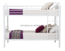 Cheap adult metal bunk frame double deck bed wholesale