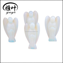 2'' Opalite Angel Figurines/Opal Hand Carved Figurines