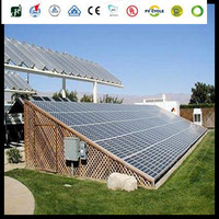 solar high quality efficiency poly 310W 300w 24v solar panel for home use