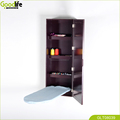 China Guangdong Shenzhen Goodlife wall mount wooden folding ironing board cabinet