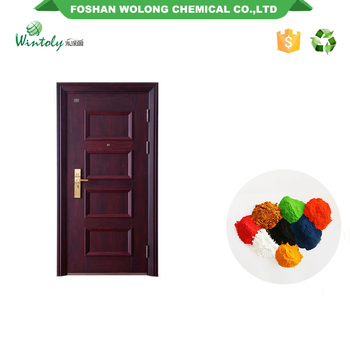 Alibaba china Art texture wrinkle effect finish epoxy resins Powder coating
