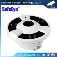 5MP Fisheye Wide Angle Lens TVI / CVI / AHD panoramic 360 view Hybrid 1080P Fisheye CCTV Camera