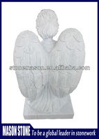 Angel stone carving with producer price for grave