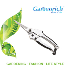 RG1302 Gardenrich top quality sharp garden scissors with SK5 blade heavy duty pruning shear
