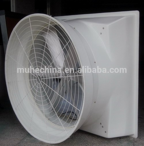 Fiber glass exhaust fan ventilation fan for industrial/greenhouse