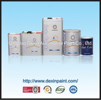 Weathering resistant 2k car paint solid colors