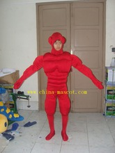 Superman mascot costume/red superman carnival carnival/hand make superman cartoon costune