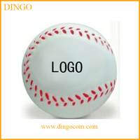 Hot selling custom pu squeeze baseball bat with stress ball