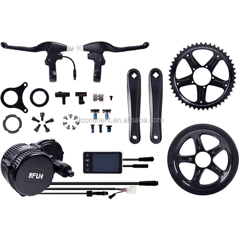 Bafang mid mount bike motor 36v 250w mid central drive electric bicycle kit