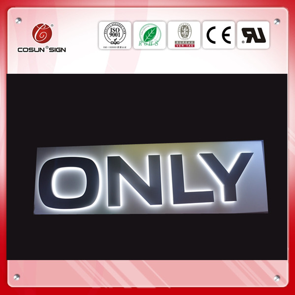 cutom led storefront signs prices