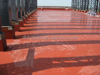 Double component liquid rubber polyurethane roof coating