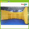 large cheap durable inflatable warehouse storage tent for rental for sale