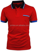 Logo customized 60% cotton 40% polyester embroidered polo shirts