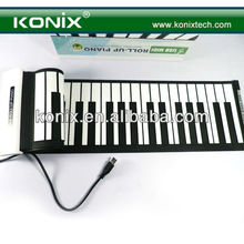 Soft Roll Up Flexible Electronic Keyboard Piano Music Portable