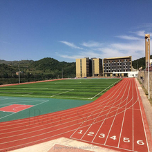 Rubber sports Facilities Athletic running track covering