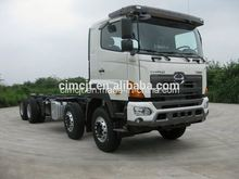 China high quality Yuejin brand 30Ton Light duty 8*4 mini lorry trucks for sale