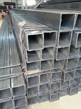 Black Square and Rectangular Hollow Section Structural Steel Tubes