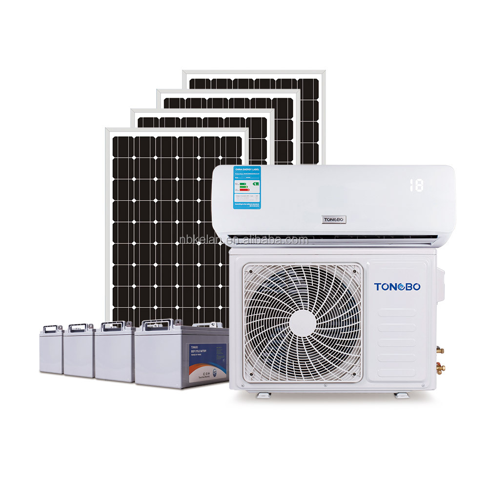 Solar air conditioner soalr energy direct drive DC variable frequency Air conditioner 2P DC48V