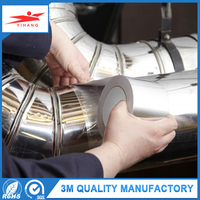Printing Lables Fix Air Conditioning Pipe Insulation Adhesive Tape