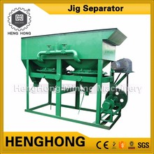 Henghong specific process flow diagrams of zirconium ore movable sieve jig