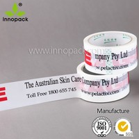 customized BOPP logo printed adhesive tape high quality