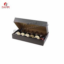 Large corrugated cardboard 6 bottle wine box for sale