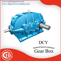 Zibo GVORVI Low price DBY/DBYK/DCY/DCYK/DFY Angel Shaft Mounted Bevel Gear Comer Gear speed reducer