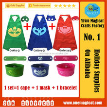 Hot Selling Wholesale Superhero Cape For Kids Cosplay in Party Factory High Quality Sperhero Cape and Mask