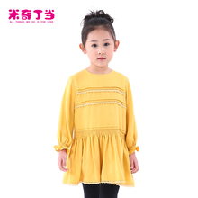 China manufacturer kids fashion party wear dress for 2-12 years old baby girls cotton dresses