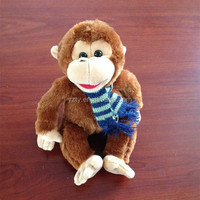 new design hot sale plush monkey stuffed toy
