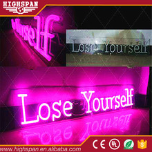 Best selling neon sign manufacturer making machine letters personnalized