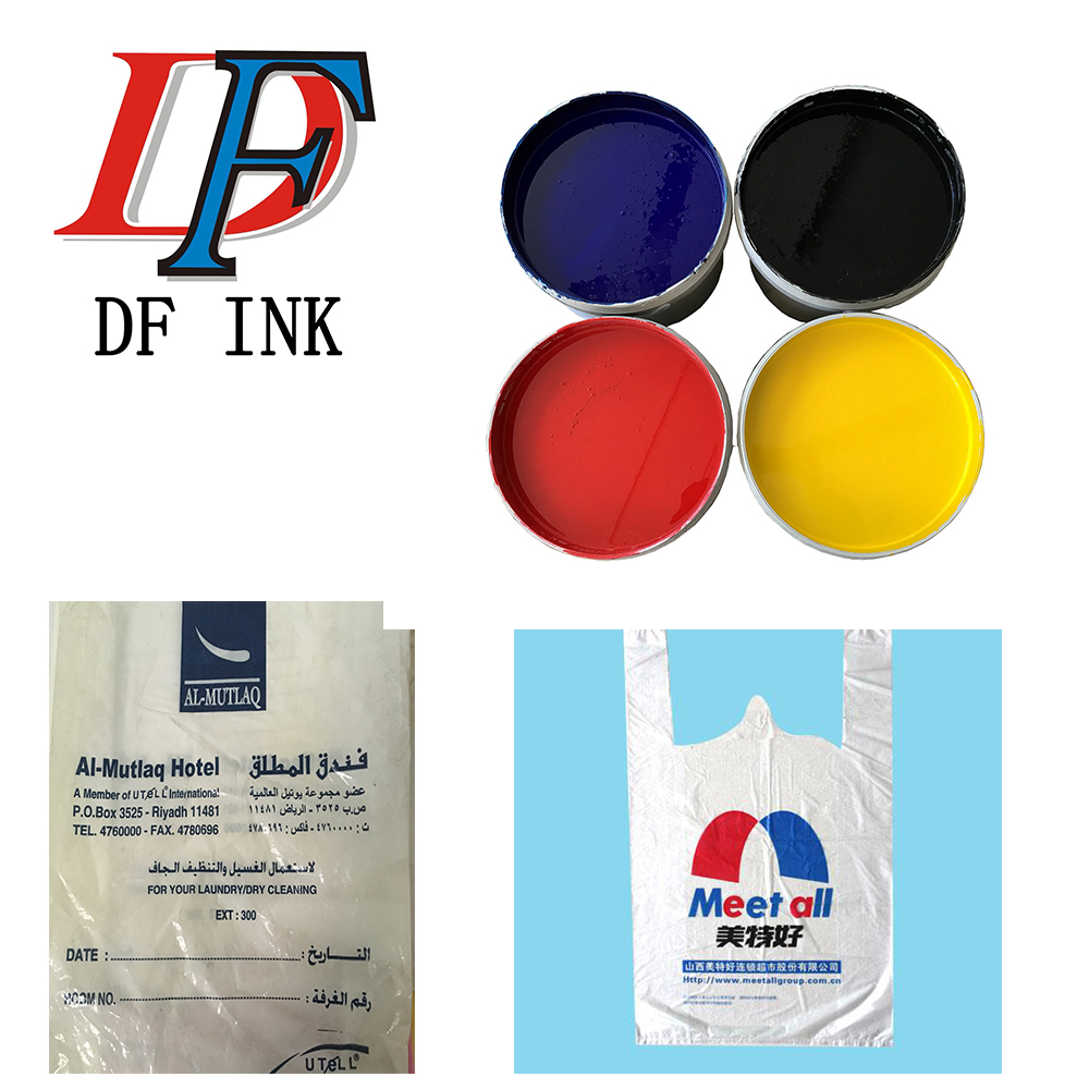 rub-resistance alcohol based pp plastic screen printing ink