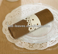 Napkin ring for wedding decoration